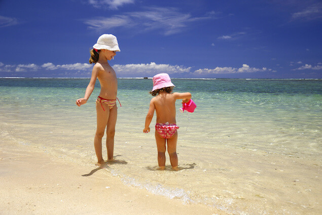 Activities with children Mauritius