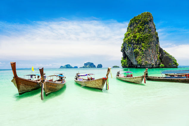 Beautiful beaches Thailand