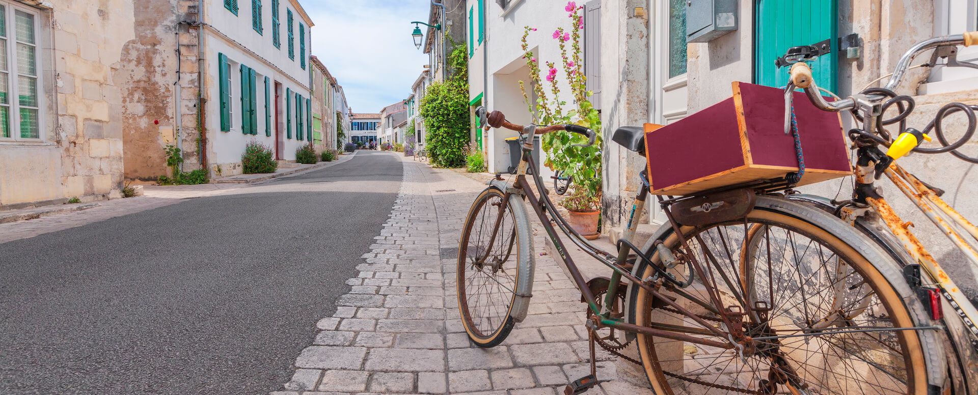 The bicycle: the means of transport - Île de Ré