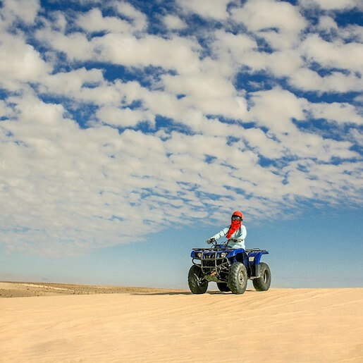 Full adventure in Agafay Rock Desert