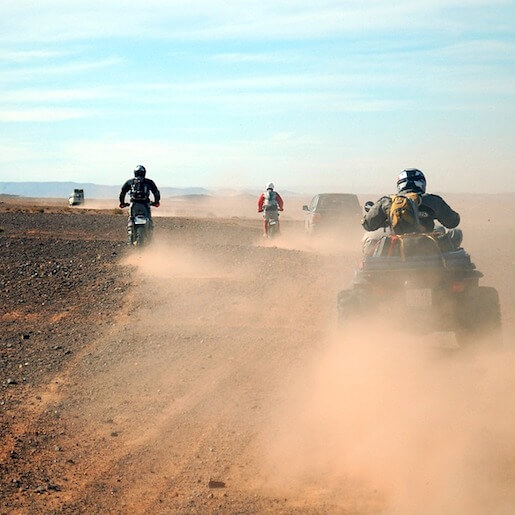 Ride in the Heart of the Jiblets Mounts and the Rock Desert