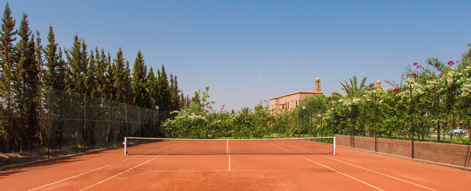 Villa Rentals In Marrakech With Tennis Courts Villanovo
