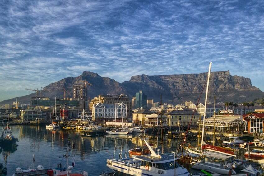 Modern cities: Cape Town, Johannesburg and Durban