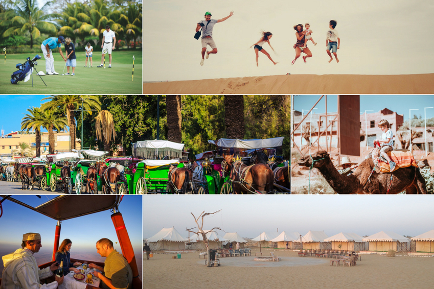 Marrakech, the city of 1,001 possibilities