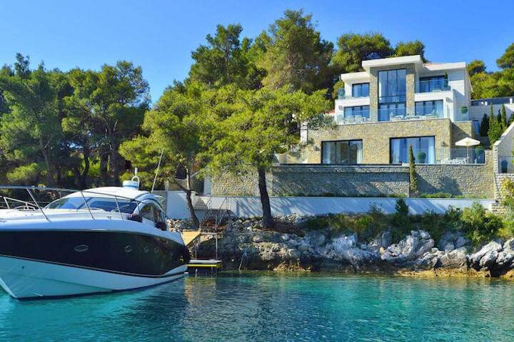 A villa rental in the land of a thousand islands