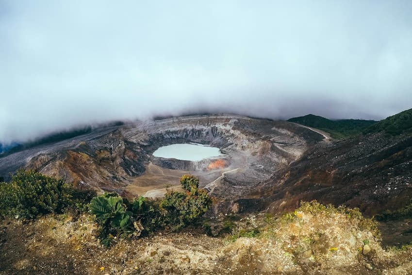 3- Visit the crater of Mount Poás