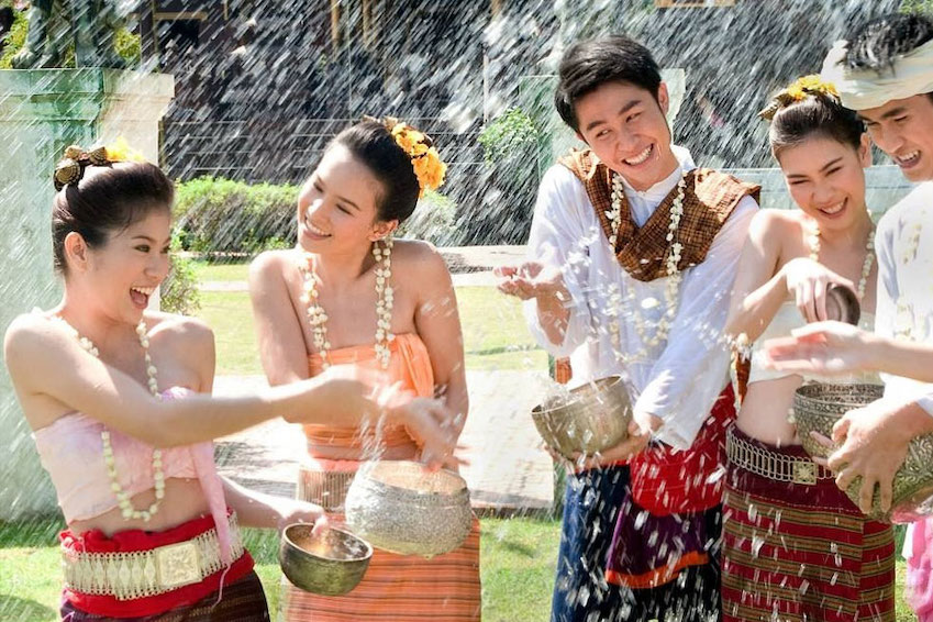 Songkran Festival, The World's Largest Water Fight (Thailand)