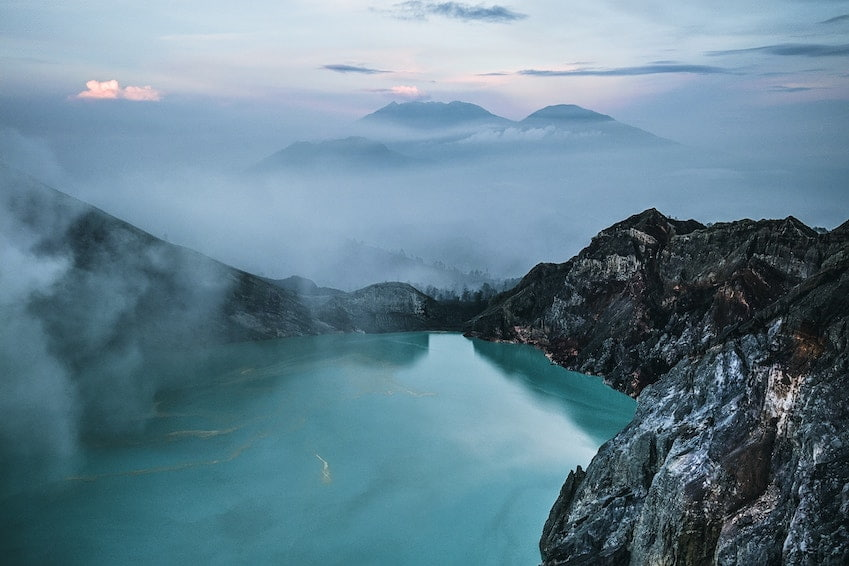 Mount Kawah Ijen, the most mysterious