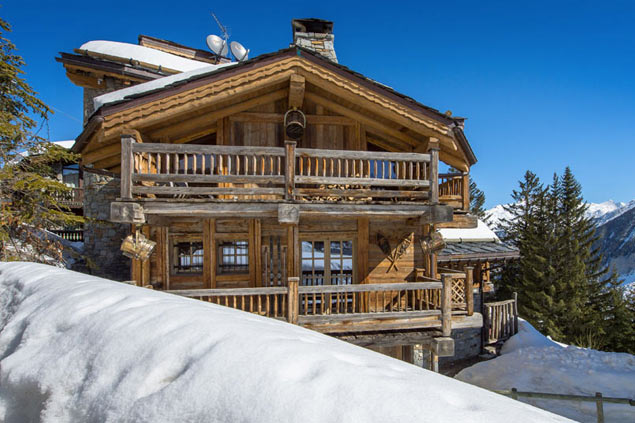 Villa rentals in Courchevel