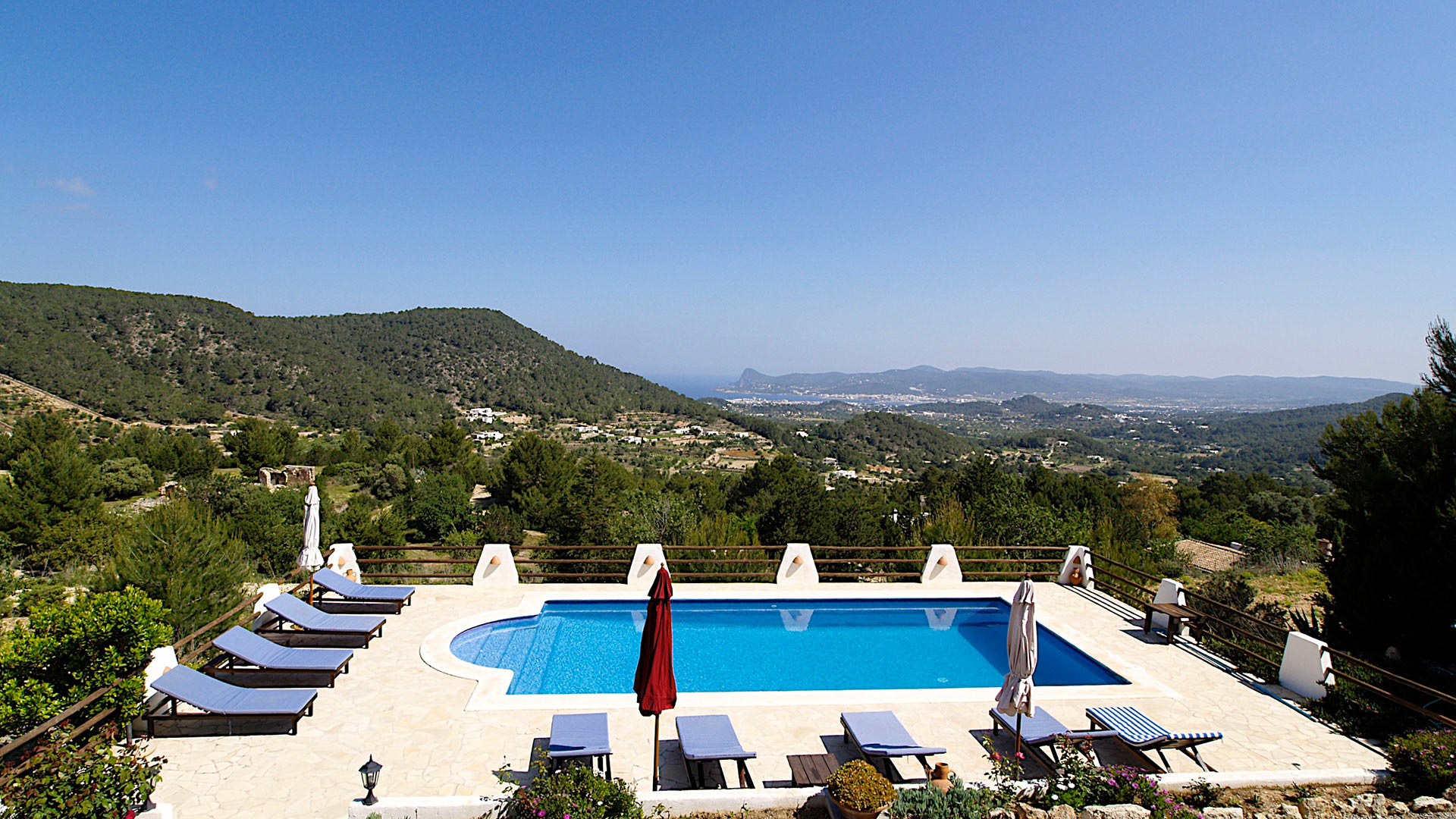 Villa Talaia Mountain, Rental in Ibiza