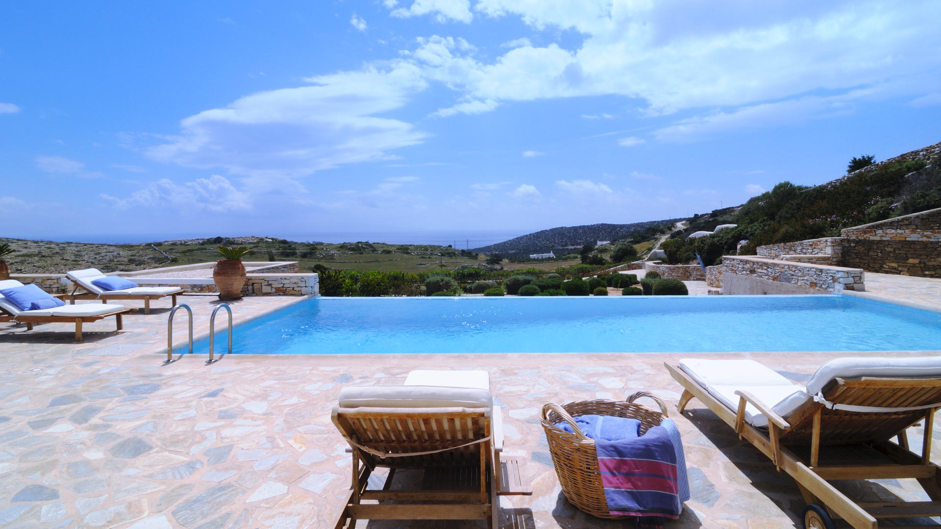 Villa Villa Ines, Rental in Cyclades - Other islands