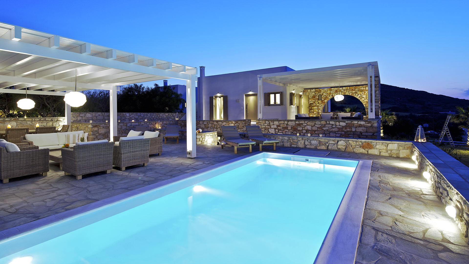 Villa Villa Hector, Rental in Cyclades - Other islands
