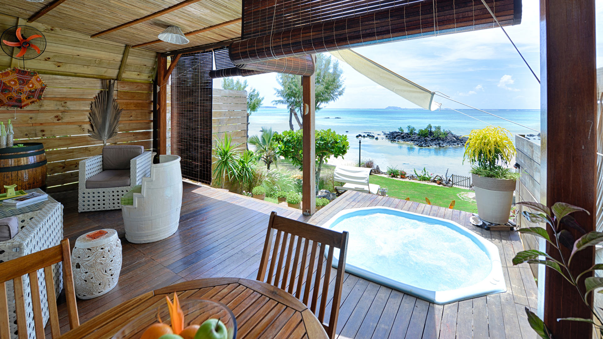 Villa Villa Courte Paille, Rental in Mauritius North