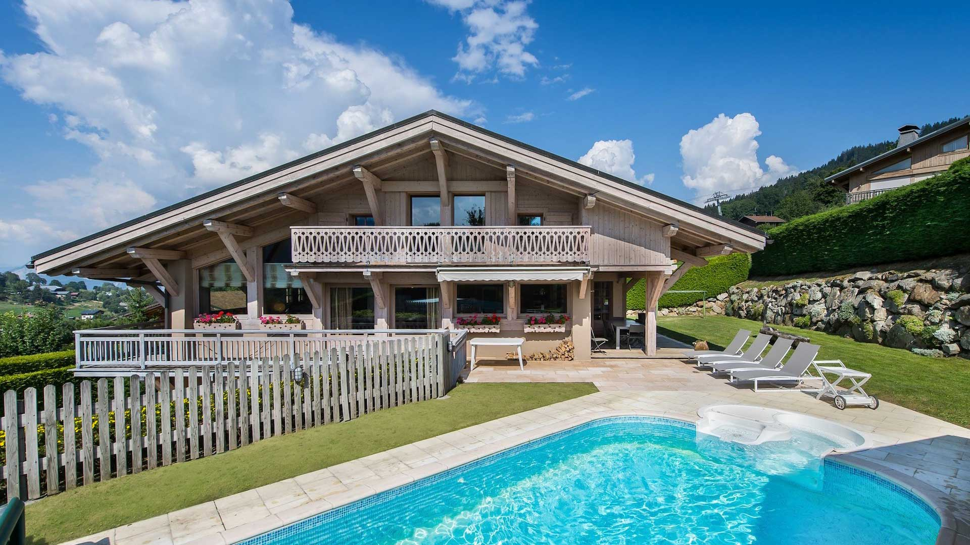 Villa Chalet Les Epilobes, Rental in Northern Alps