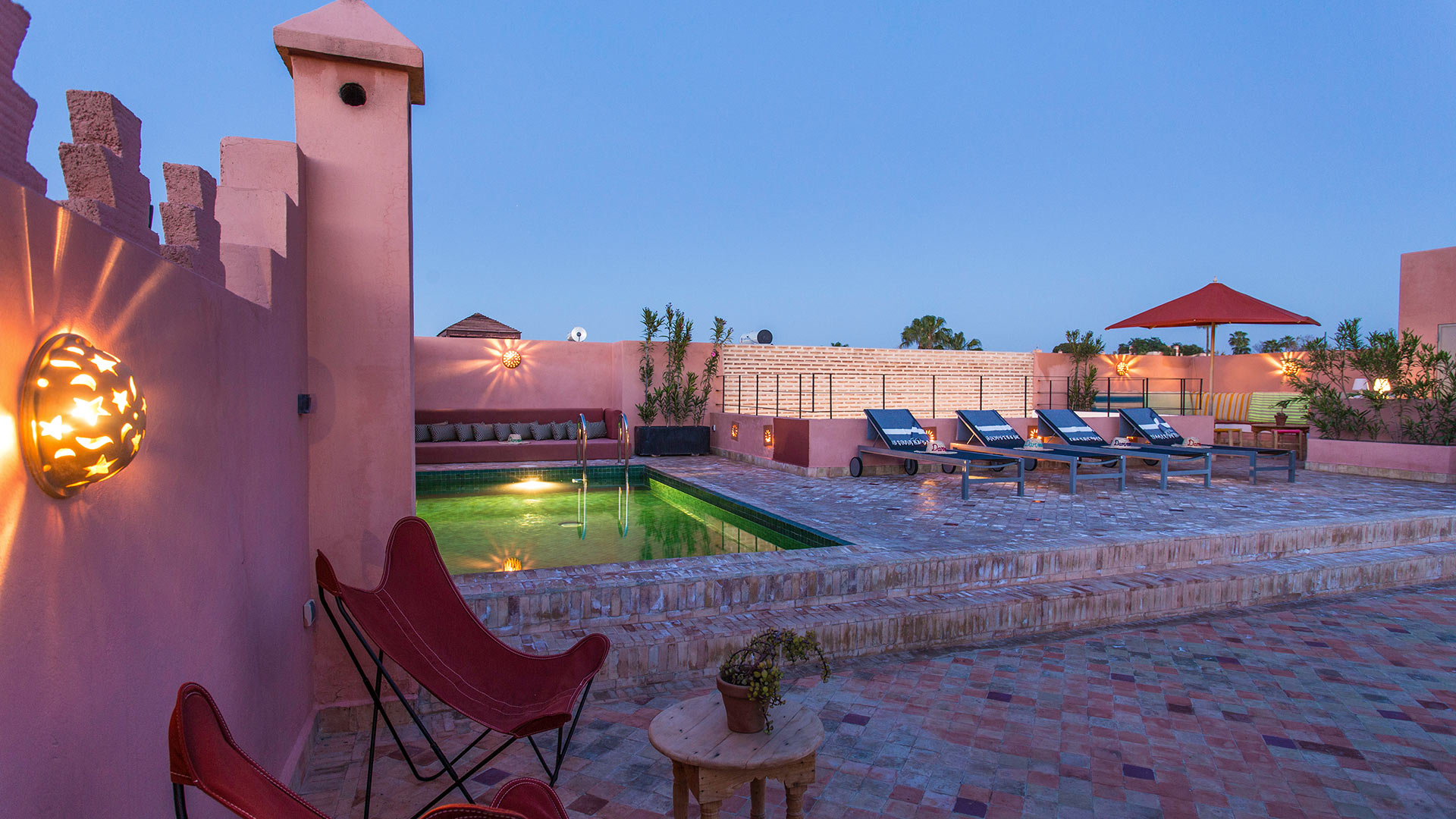 Villa Riad Darmina, Rental in Marrakech