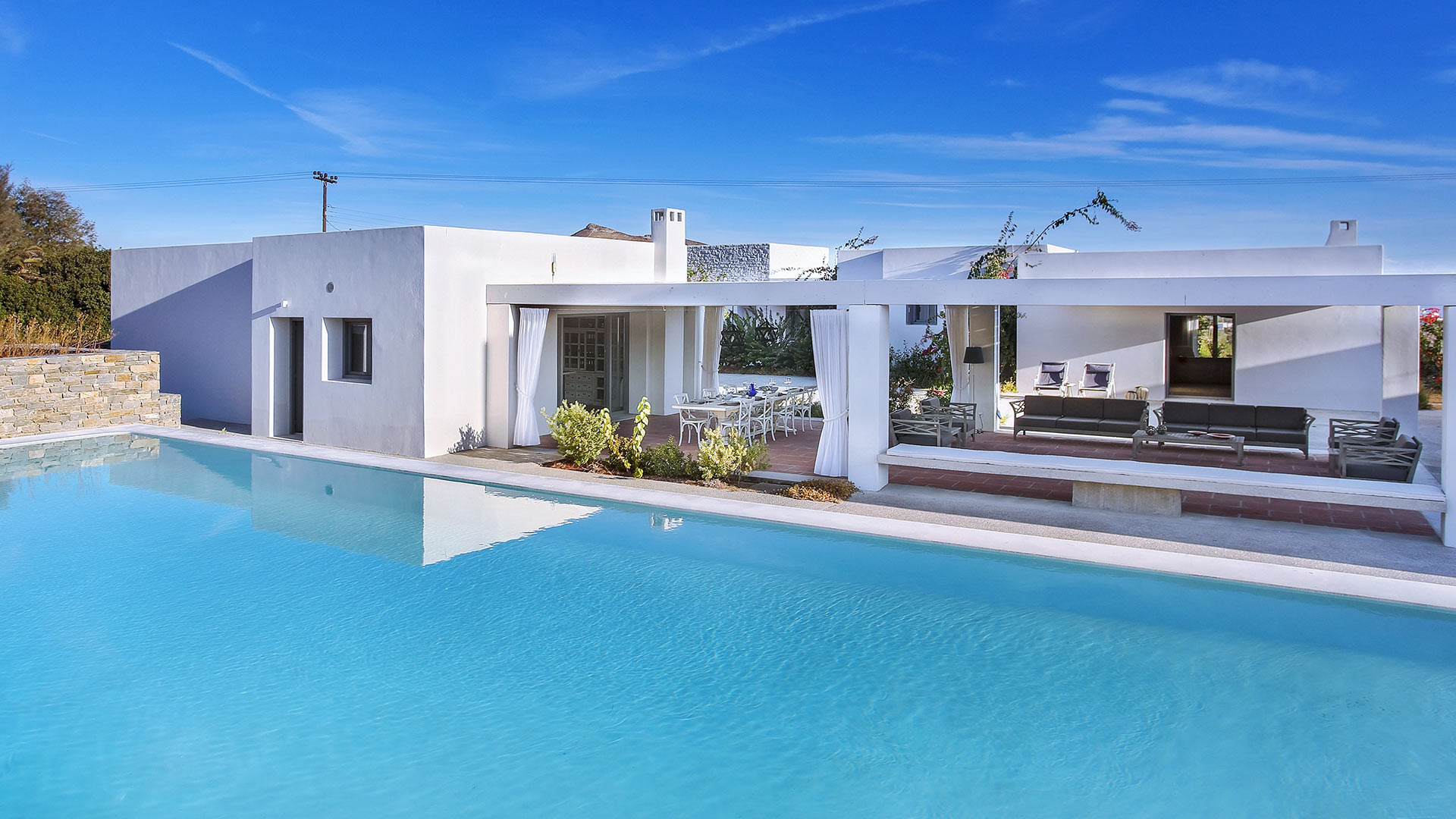 Villa Villa Naousa, Rental in Cyclades - Other islands