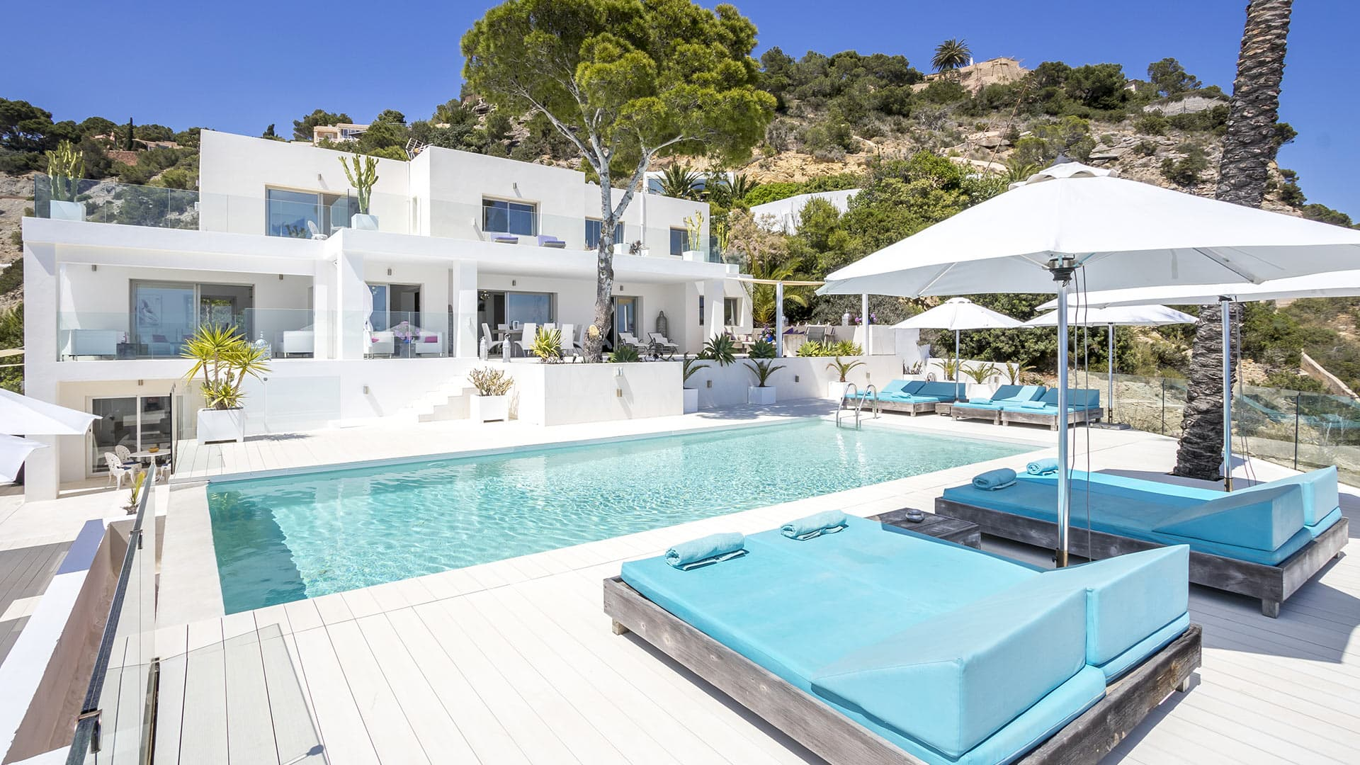 Villa White Pearl Villa Rental In Ibiza Ibiza South Villanovo