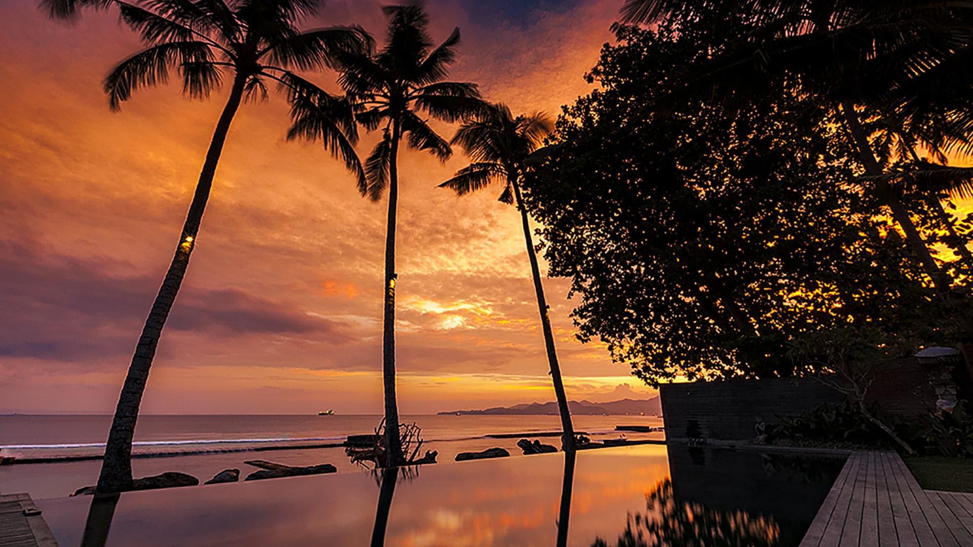 Villa Manis Beachfront Candidasa Villa Rental In Bali East Candidasa Villanovo