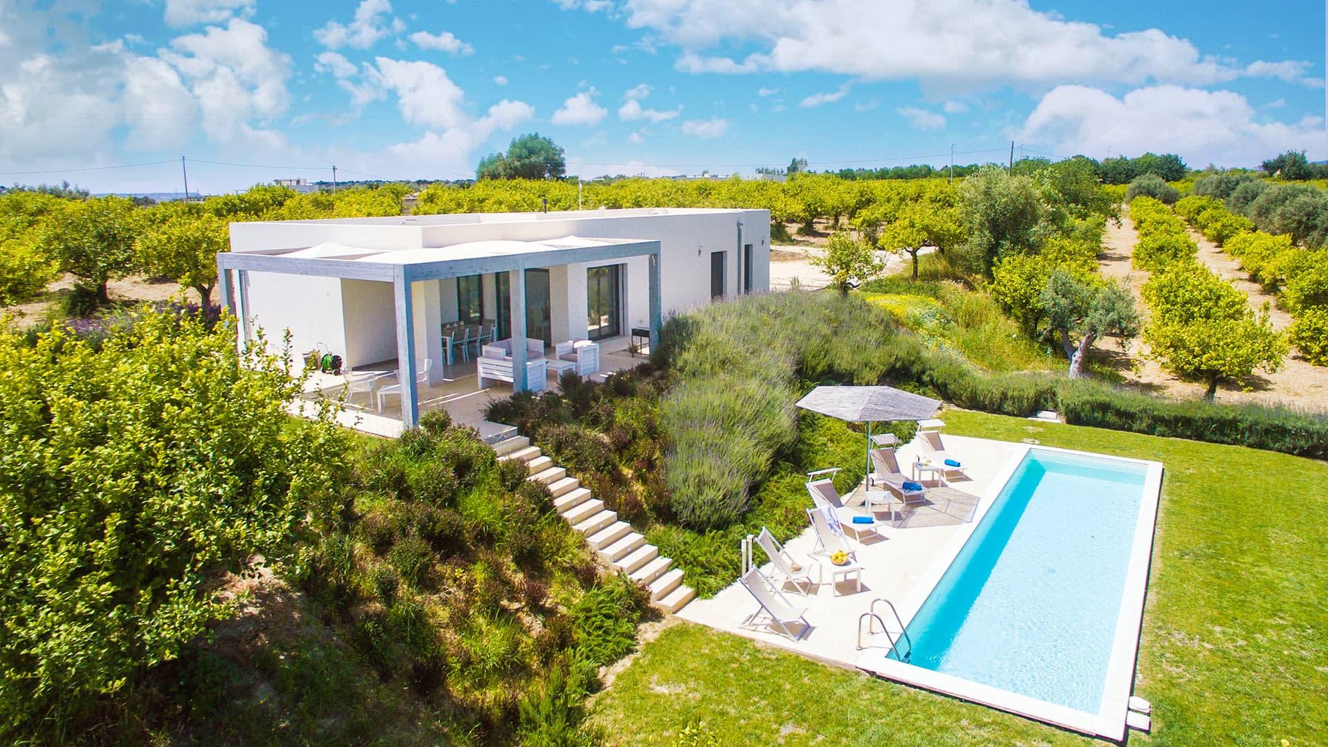 Villa Manele - Villa rental in Sicily, Sicily South ...